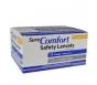SureComfort Safety Lancets 23G, 2.2mm- 100ct