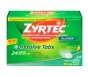 Zyrtec 24 Hour Allergy Dissolve Tablets 10mg Citrus 24ct