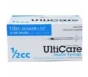 "Ulticare Insulin Syringes 29 Gauge, 1/2cc, 1/2""- 100ct"