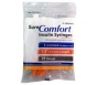 "SureComfort Insulin Syringe 29 Gauge, 1cc, 1/2"", 10 Count"
