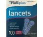 TRUEplus Sterile Lancets 30 Gauge- 100ct