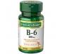 Natures Bounty Vitamin B-6 100mg Tablets, 100ct