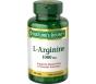 Nature's Bounty L-Arginine 1000 mg Amino Acid Supplement Tablets - 50ct