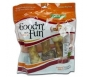 Healthy Hide Good N Fun  Pork, Beef and Chicken Bones Treat, 6-Inch- 3ct