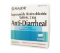 Major Anti-Diarrheal (Loperamide 2mg) Capsules - 24 Count Box