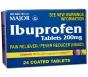 Ibuprofen 200mg Tablets 24ct