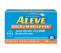 Aleve Back & Muscle Pain Tablet, Pain Reliever/Fever Reducer, 24ct