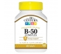 21st Century B-50 Complex Prolonged Release Tablets, 60 ct