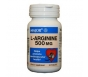 Major L-Arginine 500mg Tablets - 50 Count Bottle