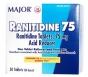 Ranitidine 75mg Tablets - 30ct Bottle