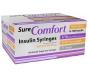 SureComfort U-100 Insulin Syringe 31 gauge, 3/10cc, 5/16in, 1/2 Unit- 100 count