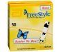 FreeStyle Diabetic Test Strips - 50 Strips (Retail)