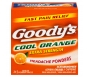 Goody's Extra Strength Headache Powders Cool Orange - 24ct