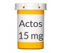 Actos 15mg Tablets
