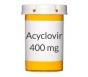Acyclovir 400 mg Tablets (Generic Zovirax)