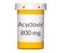Acyclovir 800 mg Tablets (Generic Zovirax)
