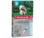Advantix II K-9  (For Medium Dogs, 11 to 20 lbs) - 6 Pack (Teal)