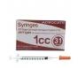 "Advocate Insulin Syringe 31 Gauge, 1cc, 5/16"", 100 Count"