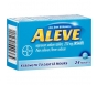 Aleve Pain Reliever/Fever Reducer Naproxen Sodium Tablets, 220mg - 24ct