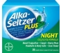 Alka-Seltzer Plus Night Cold & Flu Formula Liquid Gels- 20ct