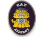"AllerMates Cat Allergy Charm for Multi-Allergy Wristband - ""Nine"""