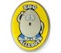 """AllerMates Egg Allergy Charm for Multi-Allergy Wristband - """"Eggie"""""""