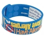 "AllerMates ""I Have Allergies"" Writable Wristband - Size M/L"