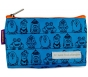"AllerMates ""I Have Food Allergies"" Reusable Small Snack Bag - Blue"