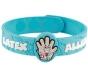 "AllerMates Latex Allergy Alert Wristband - ""Dr. StrangeGlove"""