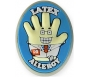 "AllerMates Latex Allergy Charm for Multi-Allergy Wristband - ""Dr. StrangeGlove"""