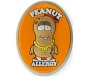 "AllerMates Peanut Allergy Charm for Multi-Allergy Wristband - ""P. Nutty"""