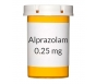 Alprazolam 0.25mg Tablets