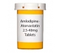Amlodipine-Atorvastatin 2.5-40mg Tablets