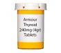 Armour Thyroid 240mg (4gr) Tablets