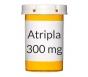 Atripla 200-300-600mg Tablets - 30 Count Bottle