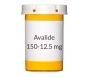 Avalide 150-12.5mg Tablets - 30 Count Bottle