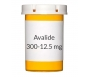 Avalide 300-12.5mg Tablets - 30 Count Bottle