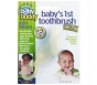 Baby Buddy Baby's First Toothbrush (Made of Silicone)