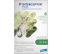 Interceptor Plus For Dogs 8-25lbs- 6 tablet pack (Green)***Discontinuing - One Box Available***