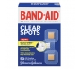 Band-Aid Perfect Blend Clear Bandages 7/8 in x 7/8 in Square - 50ct