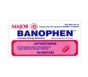 Banophen Antihistamine Tablets, 25mg- 100ct (Major)
