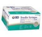 "BD Micro-Fine IV Insulin Syringe 28 Gauge, 1cc, 1/2"" -100ct Box"