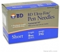 "BD Ultra-Fine Pen Needles 31 Gauge, 5/16"" (Short), 100 Needles"