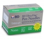 "BD Ultra-Fine Pen Needles 32 Gauge, 5/32"", 100 Needles"