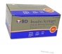 "BD Ultrafine Insulin Syringe 31 Gauge, 1/2cc, 5/16"" Needle - 100 Count"