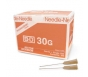 "BD Precision Glide Needle Only 30 Gauge 1/2""- 100ct Box"