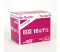 "BD Precision Glide Needle Only 16 Gauge 1.5""- 100ct Box"