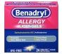 Benadryl Allergy Relief, 25 mg, Liqui-Gels - 24 count