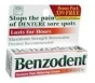 Benzodent Denture Pain Cream .25oz