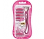 Bic Simply Soleil Click Women's Disposable Razors, 1 Razor   6 Cartridges